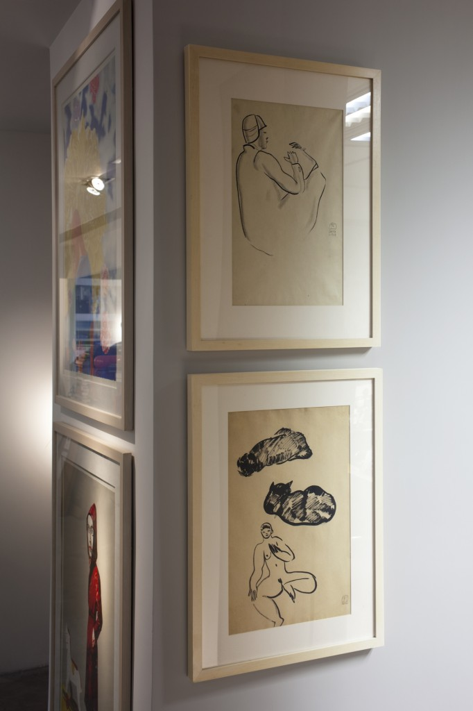 Sanyu sketches collection. Courtesy of Alan Chan.
