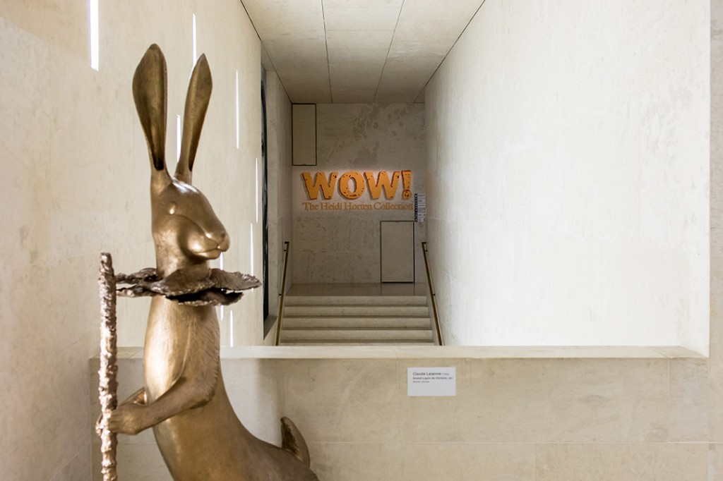 "Exhibition view ""WOW! The Heidi Horten Collection"". Courtesy of Heidi Horten Collection."
