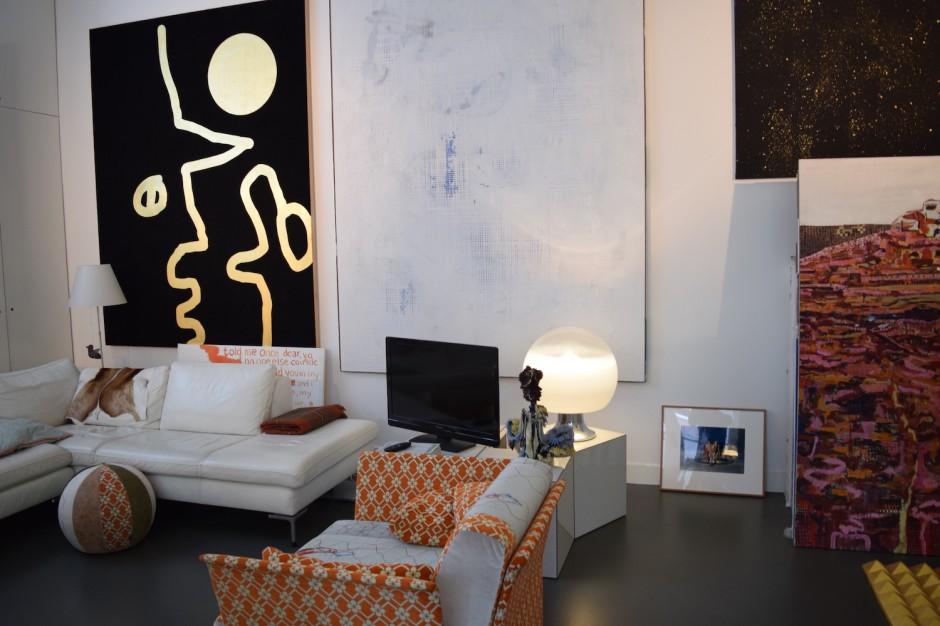 Left to right: works by Dave McDermott, Michiel Ceulers, Heringa/ Van Kalsbeek, Rineke Dijkstra. Courtesy of Henk Drosterij.