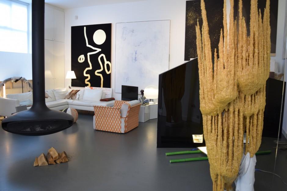 Pieces by Nick van Woert, Esther Tielemans, David Jablonowski, Sarah Pichlkostner. Courtesy of Henk Drosterij.