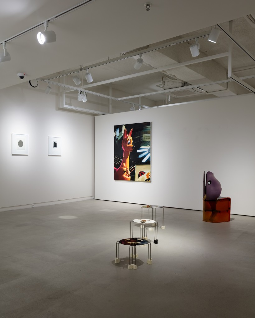 From left to right, works by Michael Wilkinson, Jon Flack and Gaetano Pesce. Photo: Jinkyun Ahn. Courtesy of Christina H. Kang.