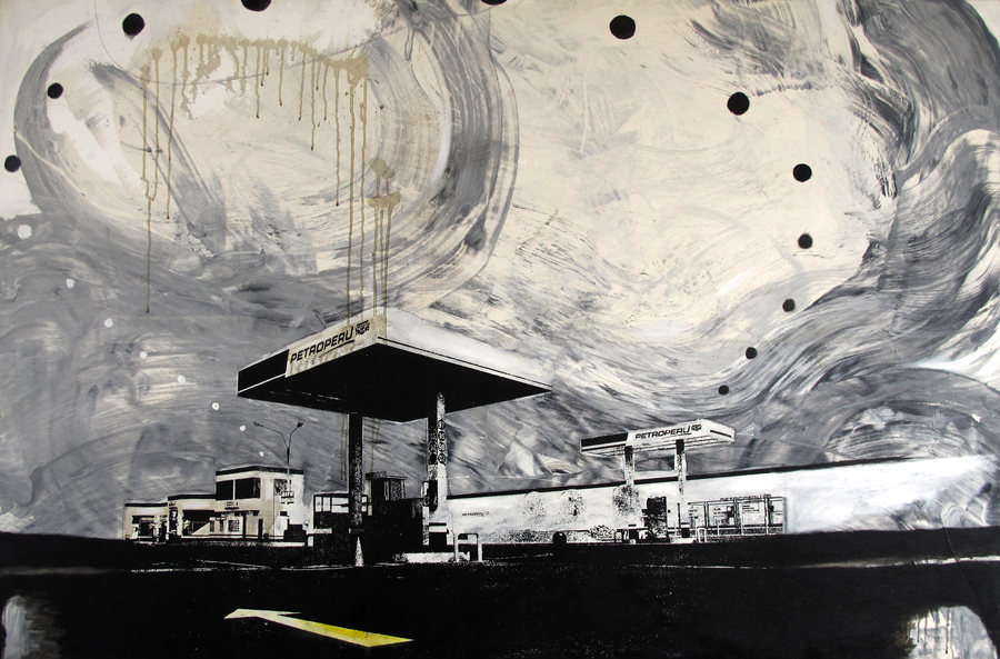 Alberto Borea, Gas station, 2005. Courtesy of Alberto Rebaza Torres