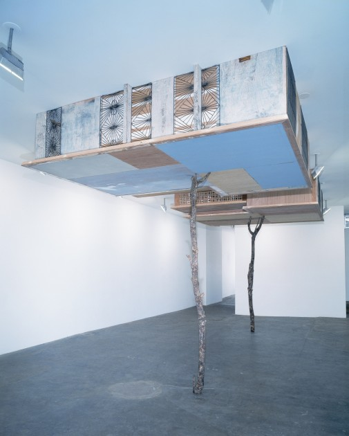 Simon Starling, Inverted Retrograde Theme, USA (House for a Song Bird), 2002. Courtesy of Dennis Scholl.
