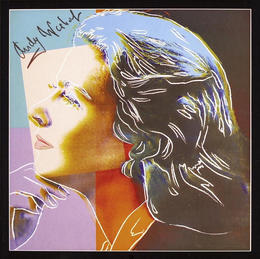 Andy Warhol, Ingrid Bergman, 1983. Courtesy of Paweł Kowalewski.