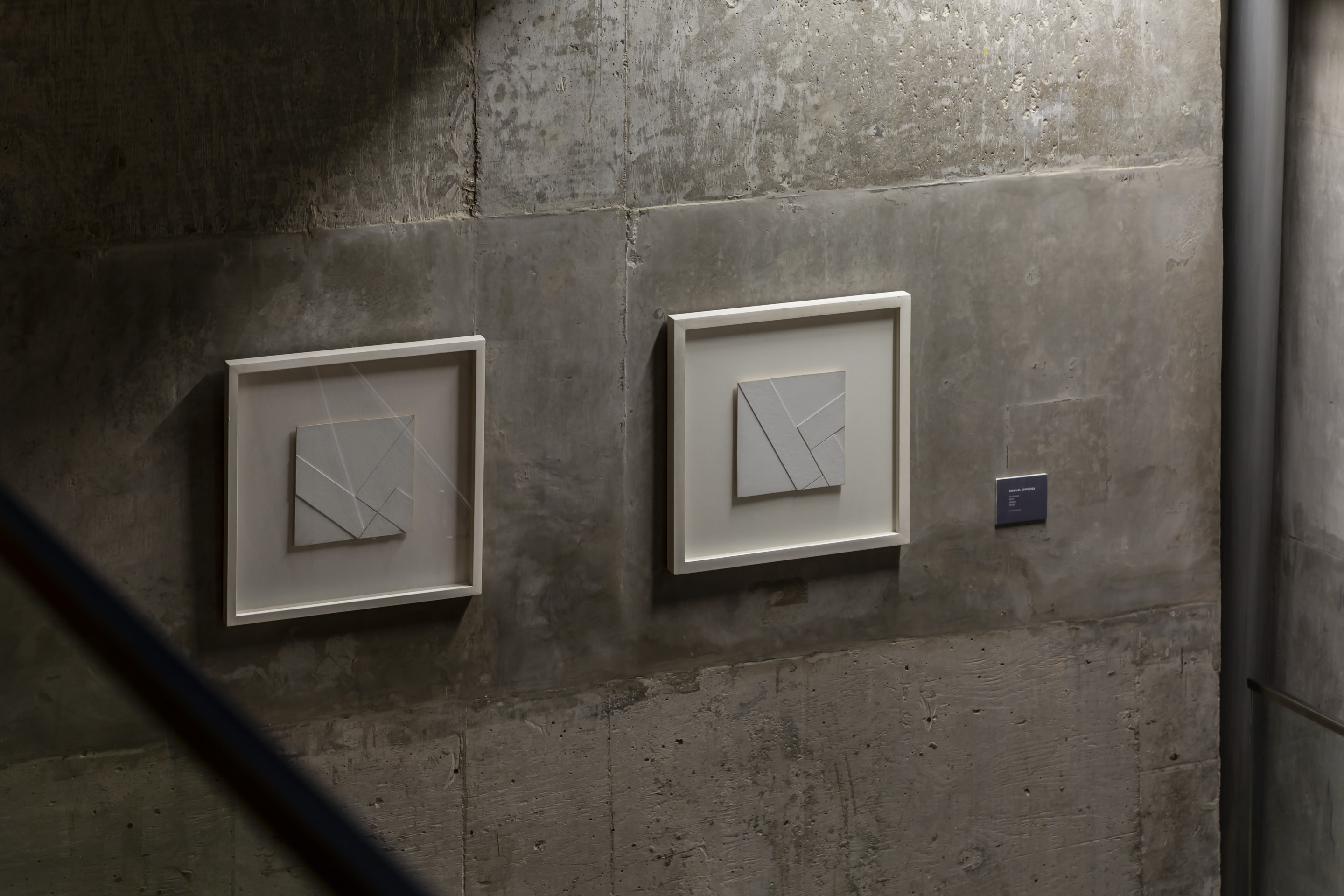 Works by Manuel Espinosa. Photo: Bruto Studio. Courtesy of MACBA