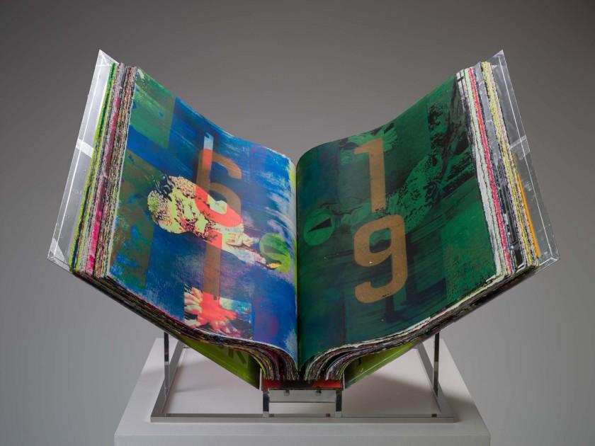 Book #1 / Layered Memories. Copyright Shinro Ohtake. Courtesy of STPI, Singapore and Take Ninagawa, Tokyo.