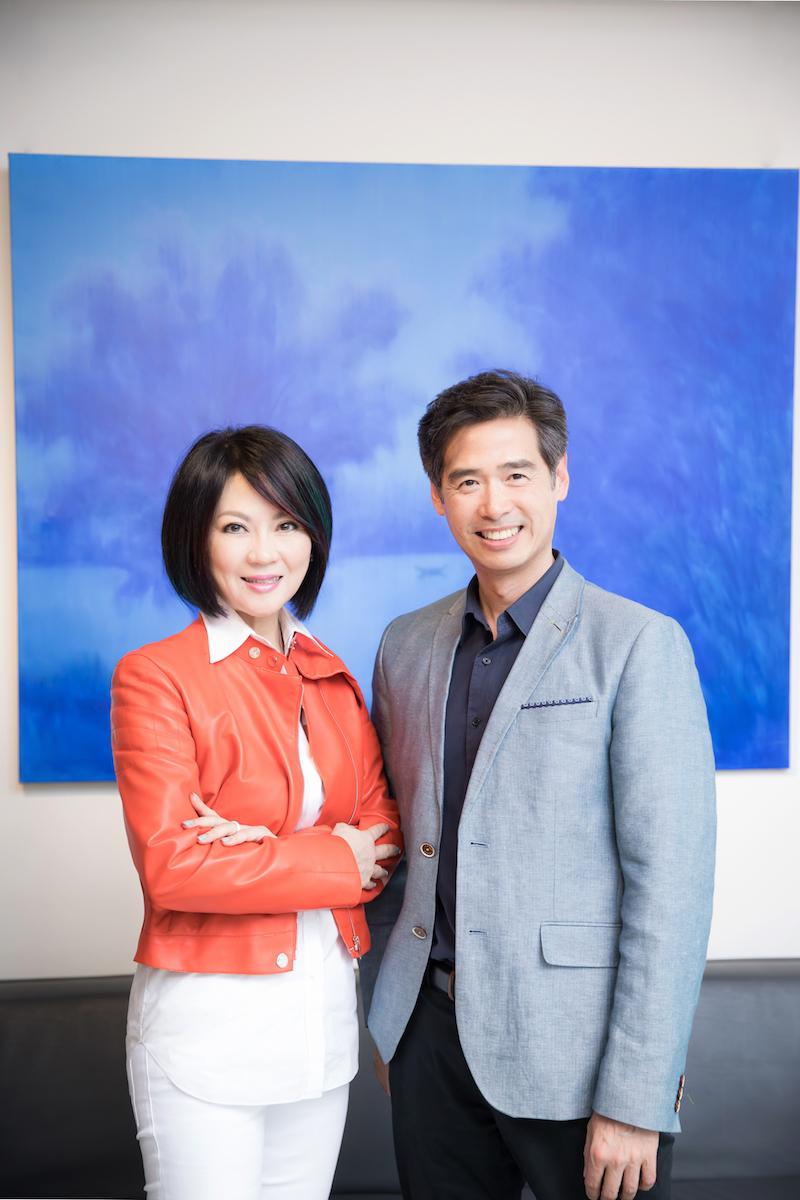 Maggie Tsai with Taiwanese Artist Lee Mingwei. Courtesy of Fubon Art Foundation.