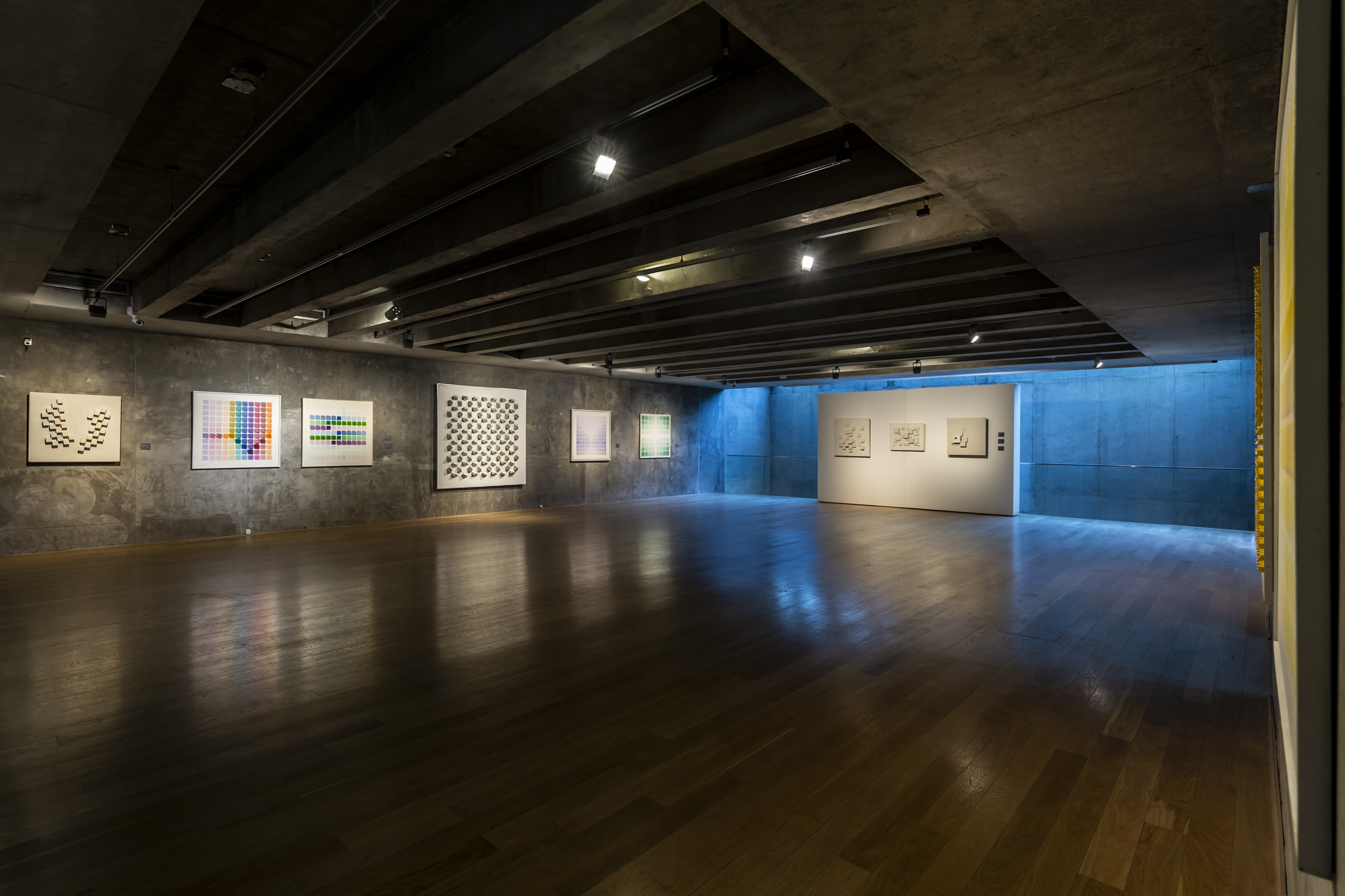 Works by Michael Tomasello and Manuel Espinosa. Photo: Bruto Studio. Courtesy of MACBA