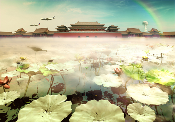 'Sleepwalker - The Forbidden City' by Liu Ren, courtesy of James Chau