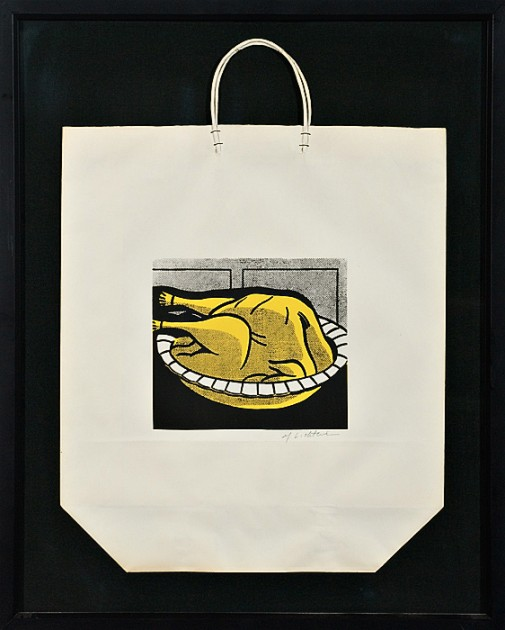 Roy Lichtenstein, Turkey Shopping Bag, 1964. Courtesy of Dennis Scholl.