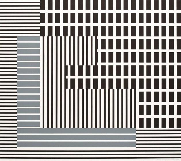 Henryk Stażewski, Geometric Composition, 1930/1977. Courtesy of Paweł Kowalewski.