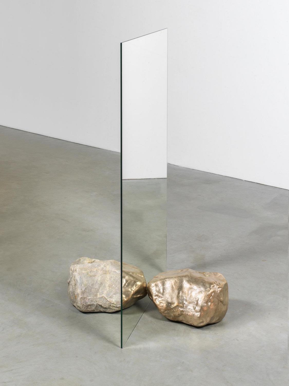 "Art by Alicja Kwade, ""BeHide 2018"". Courtesy of Konig Galerie Berlin."
