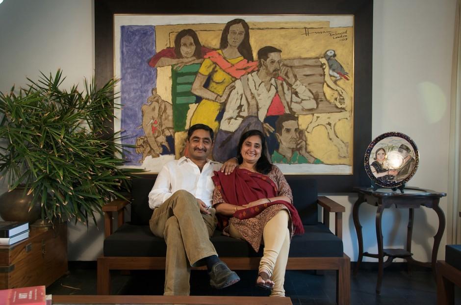 Anil Relia and Tanuja Relia. Courtesy of Anil Relia.