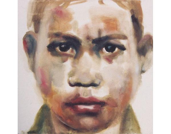 "Annie-Kevans, ""Pol-Pot-boy"", courtesy of Steffen Huck and Heike-Harmgart, Berlin, Amman"
