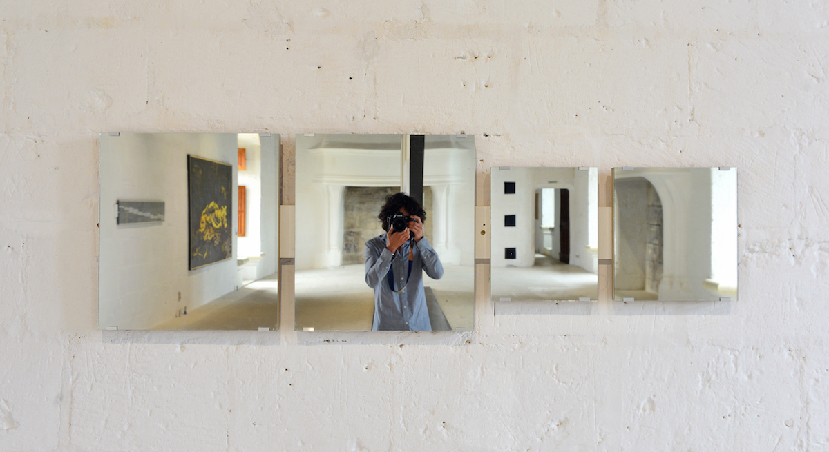 Art & Language, Mirror Piece, 1965. Photo: Léonard de Serres. Courtesy of Château de Montsoreau - Museum of Contemporary Art.