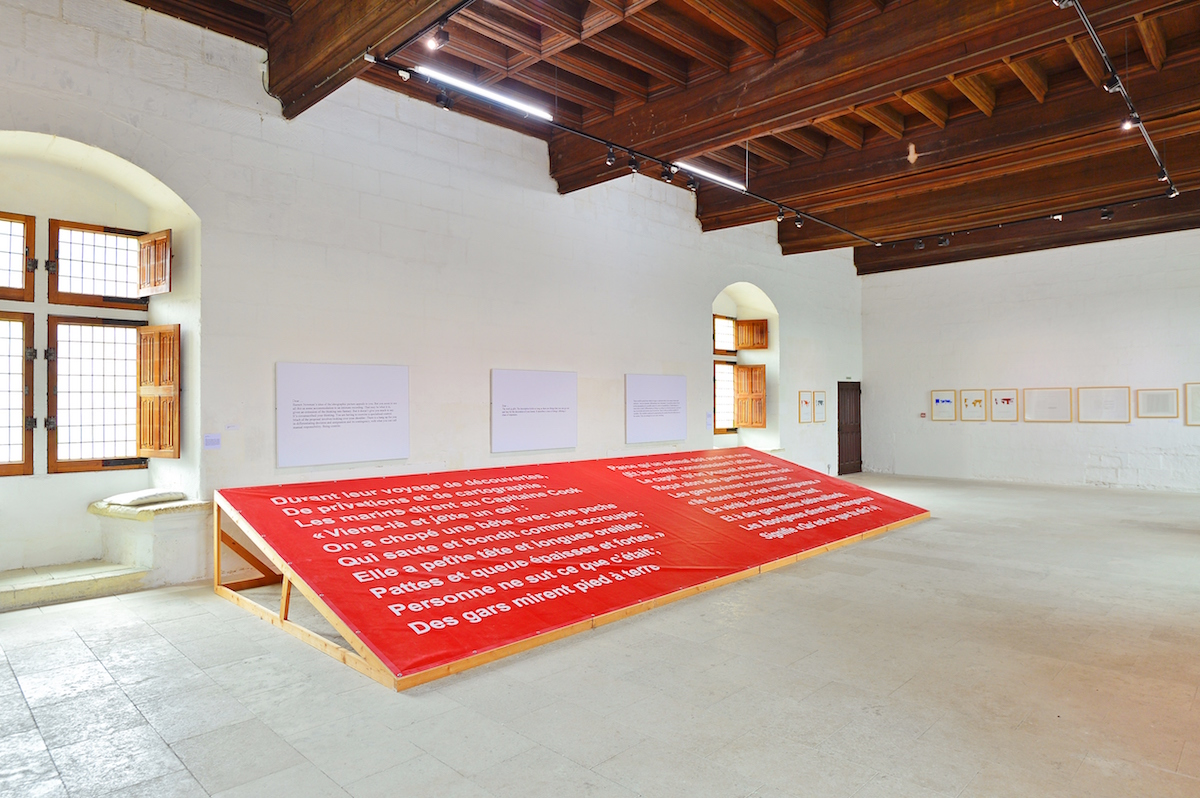 Art & Language and the Red Crayola, Kangaroo?, 1981-2017. Photo: Léonard de Serres. Courtesy of Château de Montsoreau - Museum of Contemporary Art.