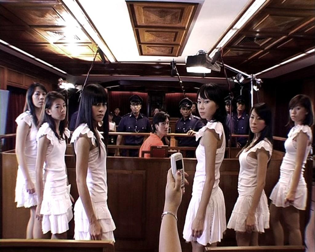 """The Bohemian Rhapsody Project"" (2006) by Ho Tzu Nyuen. Single channel digital video 8'00"".  Collection of Mr. Daisuke Miyatsu. Photo courtesy of the artist."