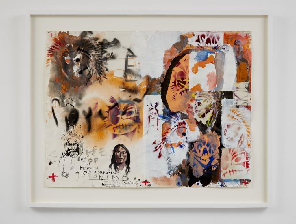 "Brad Khalhamer, ""Marianetta, Wife of Geronimo"", 2013, Franks-Suss Collection, courtesy of Simon Franks."