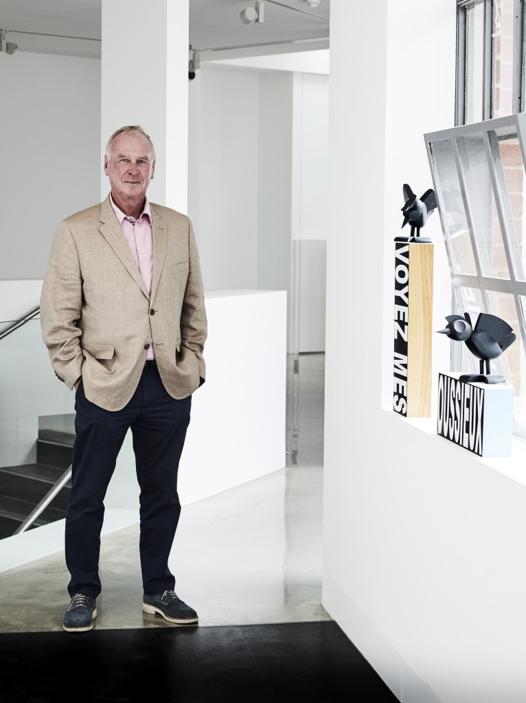 Michael Buxton inside Buxton Contemporary. Photo: James Gear Photography. Courtesy of Buxton Contemporary.