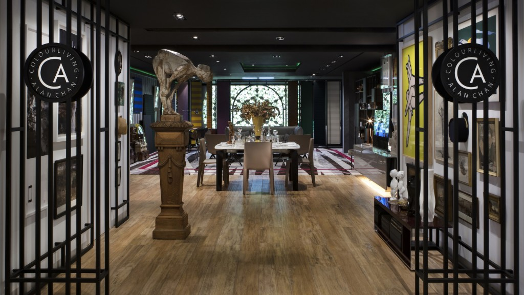 colourliving x Alan Chan is a new concept as a gallery-style home in Wan Chai Hong Kong. Courtesy of Alan Chan.