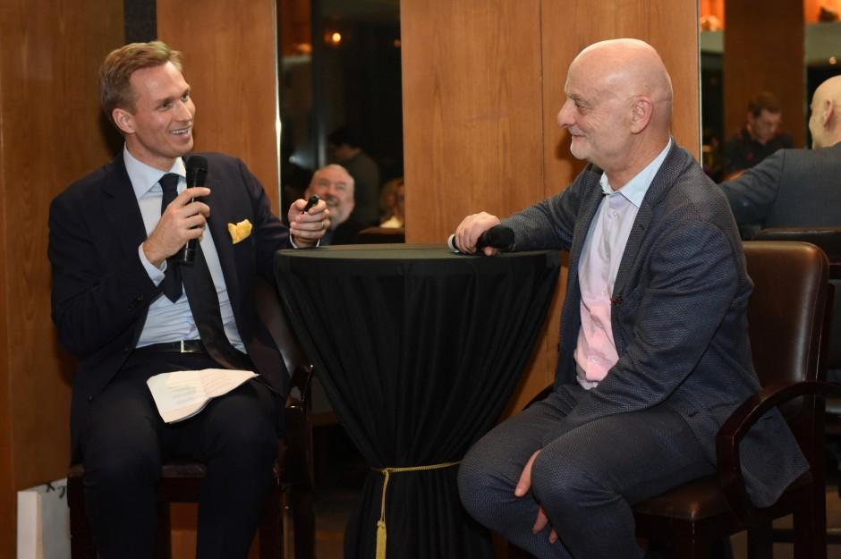 Christoph Noe and Dr. Uli Sigg