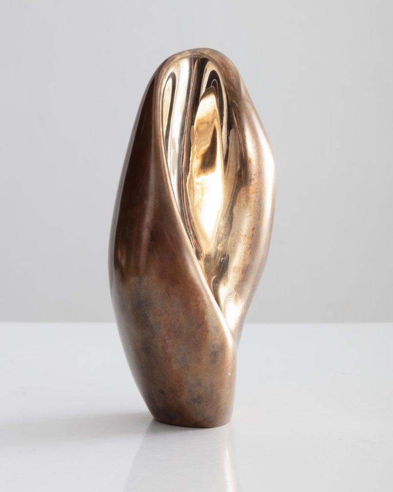 CULTURED Commission: RoganGregory, Bronze Fertility Form, Single candle stick holder, 2018. Courtesy of CULTURED.
