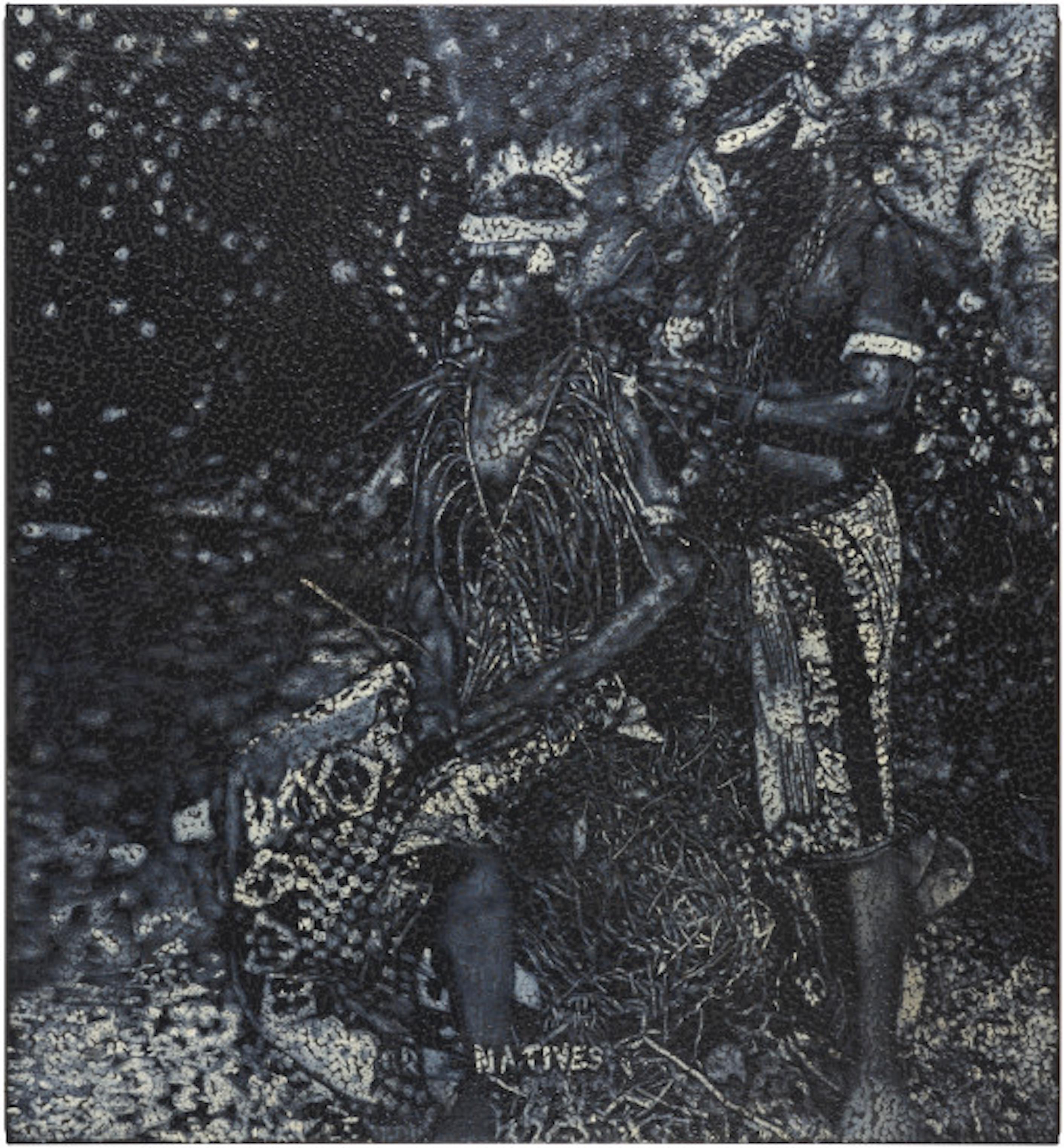 """Daniel Boyd, """"Untitled 2019"""". Courtesy of Roslyn Oxley9 Gallery."""