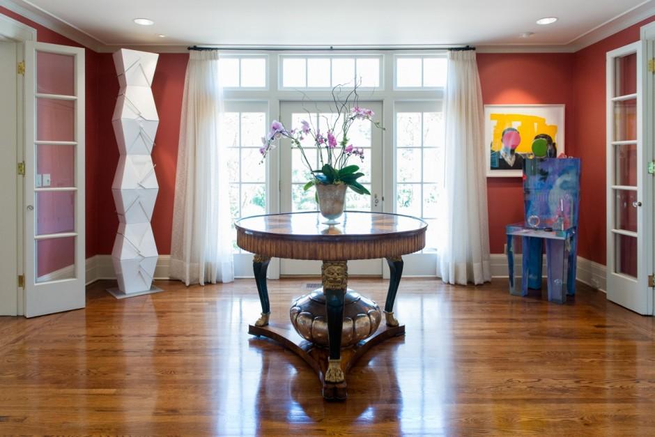 Jordan Schnitzer's home in Portland, OR, 2016. Courtesy of Jordan Schnitzer.