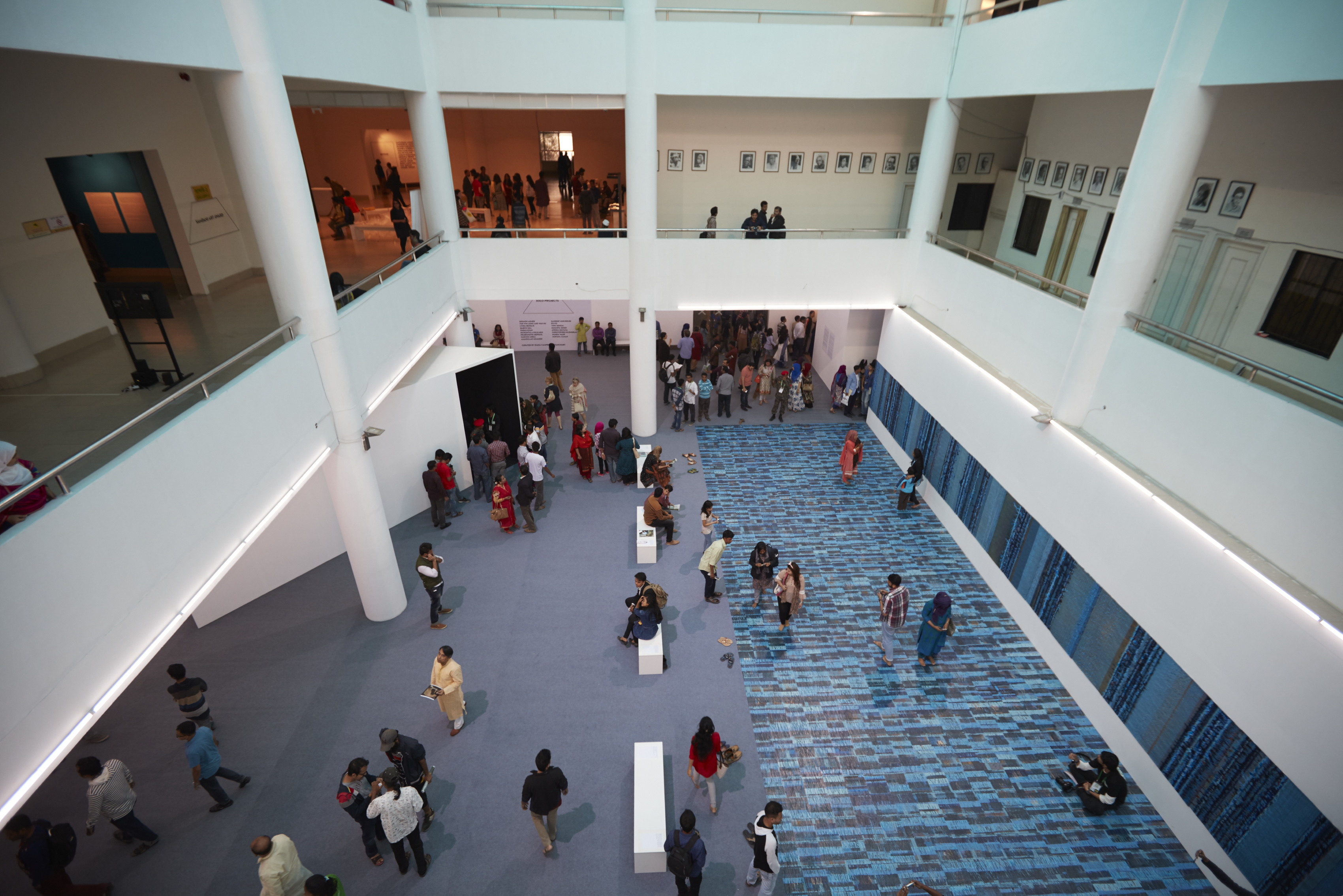 Dhaka Art Summit 2016. Courtesy of the Dhaka Art Summit and the Samdani Art Foundation
