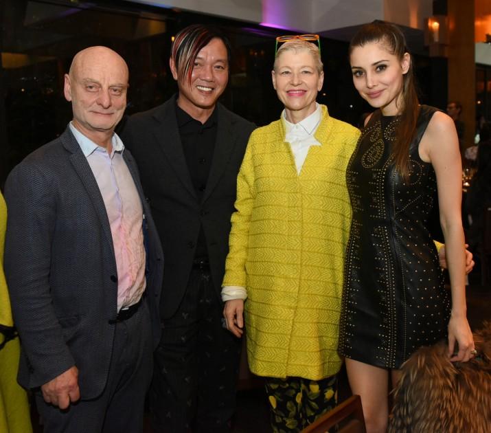 Dr. Uli Sigg, Stephen Hung, Rita Sigg and Deborah Valdez-Hung