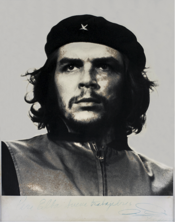 """El Che"", Alberto Korda, 1960, 45x37cm, from Cuba. Courtesy of Jan Mulder."