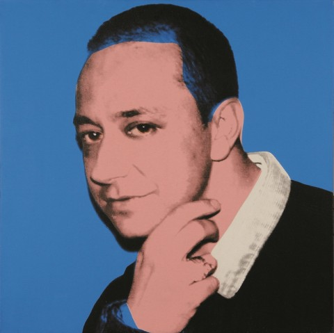Portrait of Ernesto Esposito by Andy Warhol, 1987