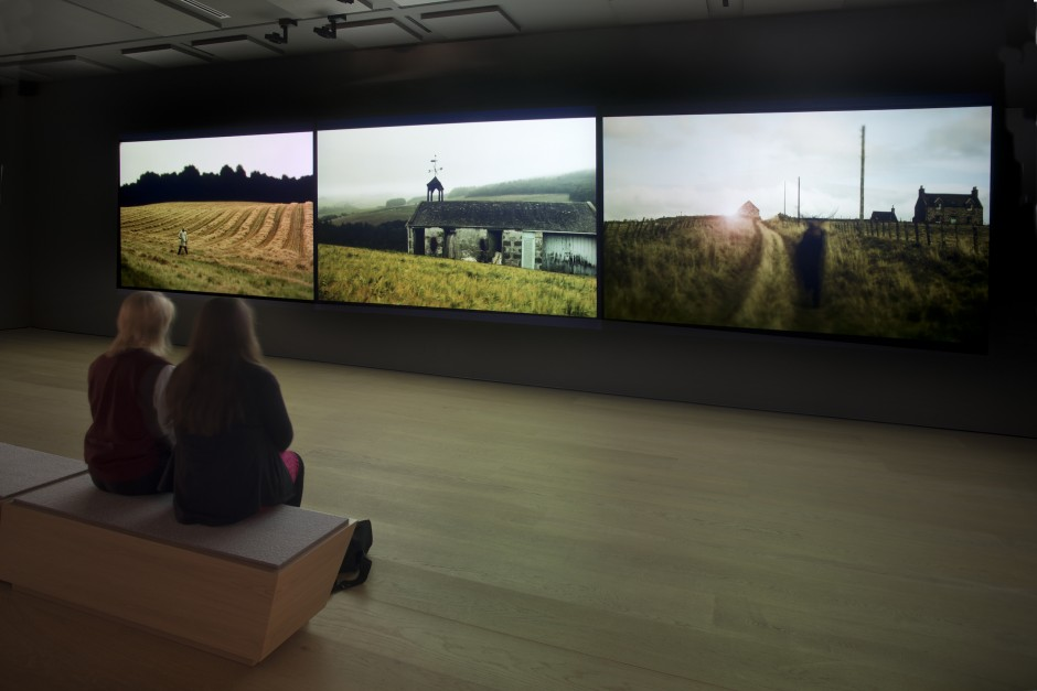 "Jillian McDonald, ""Valley of the Deer,"" 2013. Installation view at Esker Foundation. Photo: John Dean."