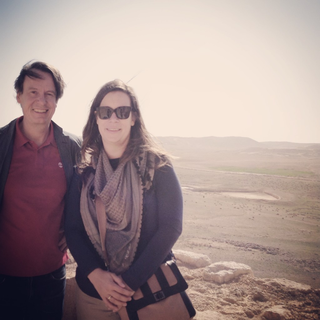 Professor Steffen Huck and his wife Dr. Heike Harmgart, credit to Steffan Heyne.