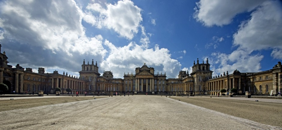 The front side of Blenheim Palace. Courtesy of Blenheim Art Foundation.