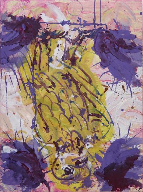 GEORG BASELITZ b. 1938 Hinterglasvogel, 1997