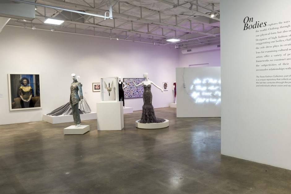 "Exhibition ""On Bodies"" at The Goss-Michael Foundation. Courtesy of The Goss-Michael Foundation."