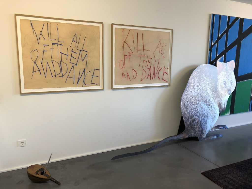 Michael E Smith, Philippe Vandenberg, Katja Novitskova. Courtesy of the artists and Gallery KOW, Gallery Hauser und Wirth, Gallery Kraupa-Tuskany Zeidler.