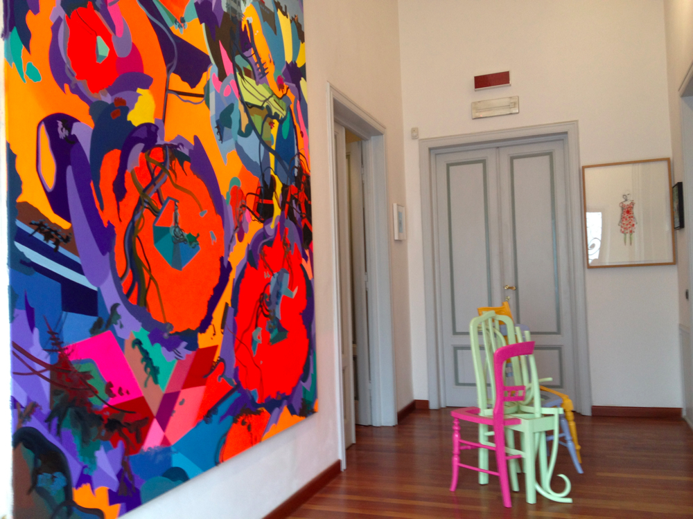 Nunzia & Vittorio Gaddi's art collection. Photo: Arttribune