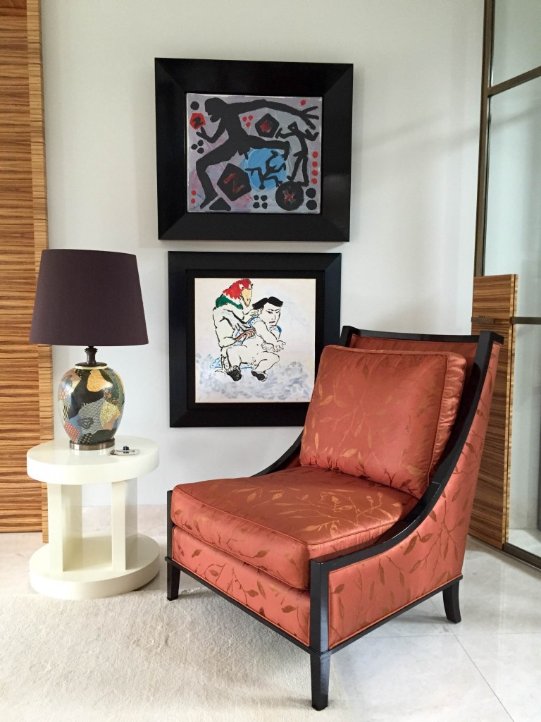 Artworks shown by Penck and Paula Rego, courtesy of Filipe da Costa Leite