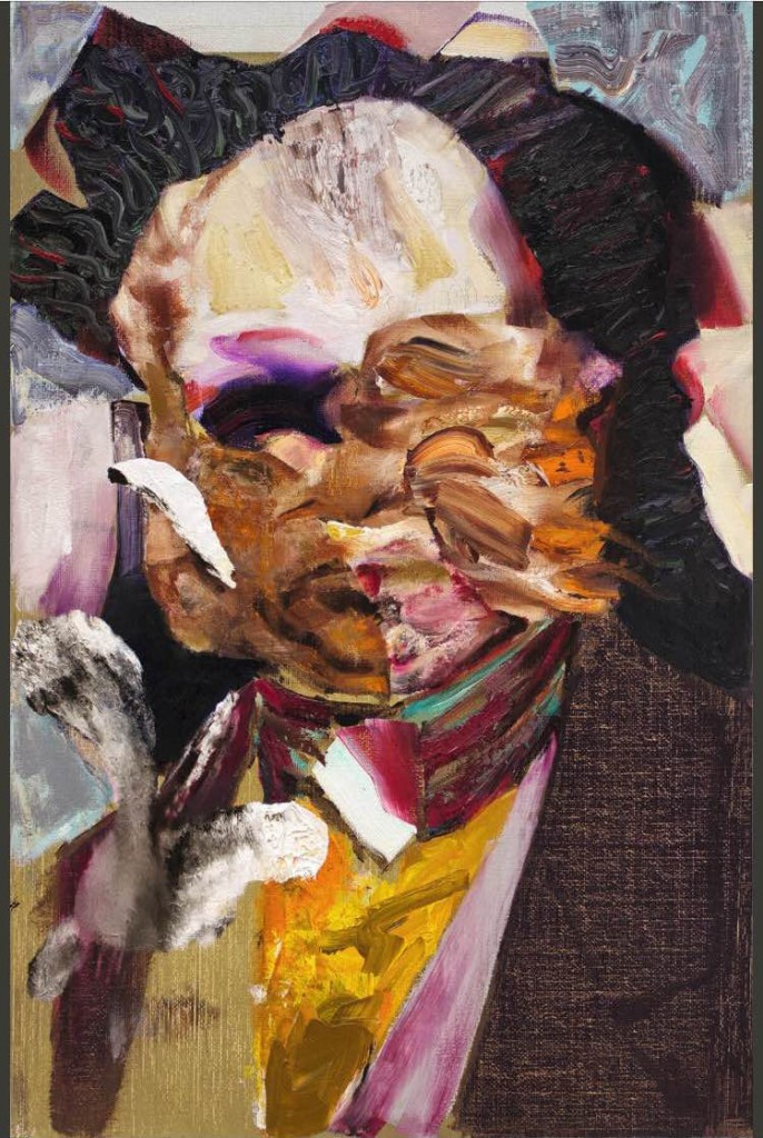 Artwork by Adrian Ghenie, courtesy of Filipe da Costa Leite