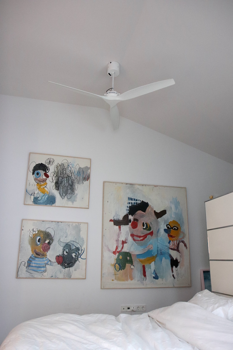 The Starsky Brines in the bedroom, which Hee Jae has been looking at for over 10 years now. Courtesy of Hee Jae Kang.