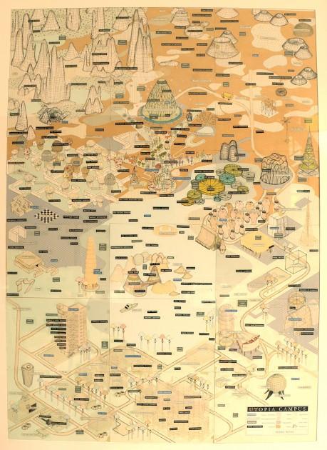 """Pedro Reyes, """"Utopia Campus"""", 1997. Courtesy of Patricia Martín."""