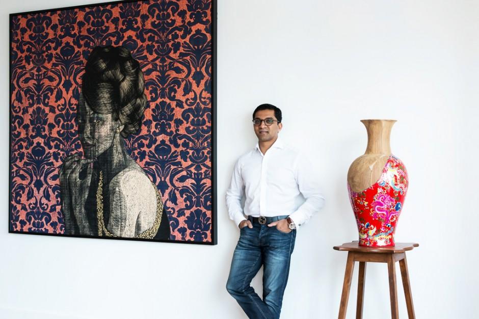 Portrait of Shohidul Ahad-Choudhury. Photo: Jacqueline Sofia. Courtesy of Shohidul Ahad-Choudhury.