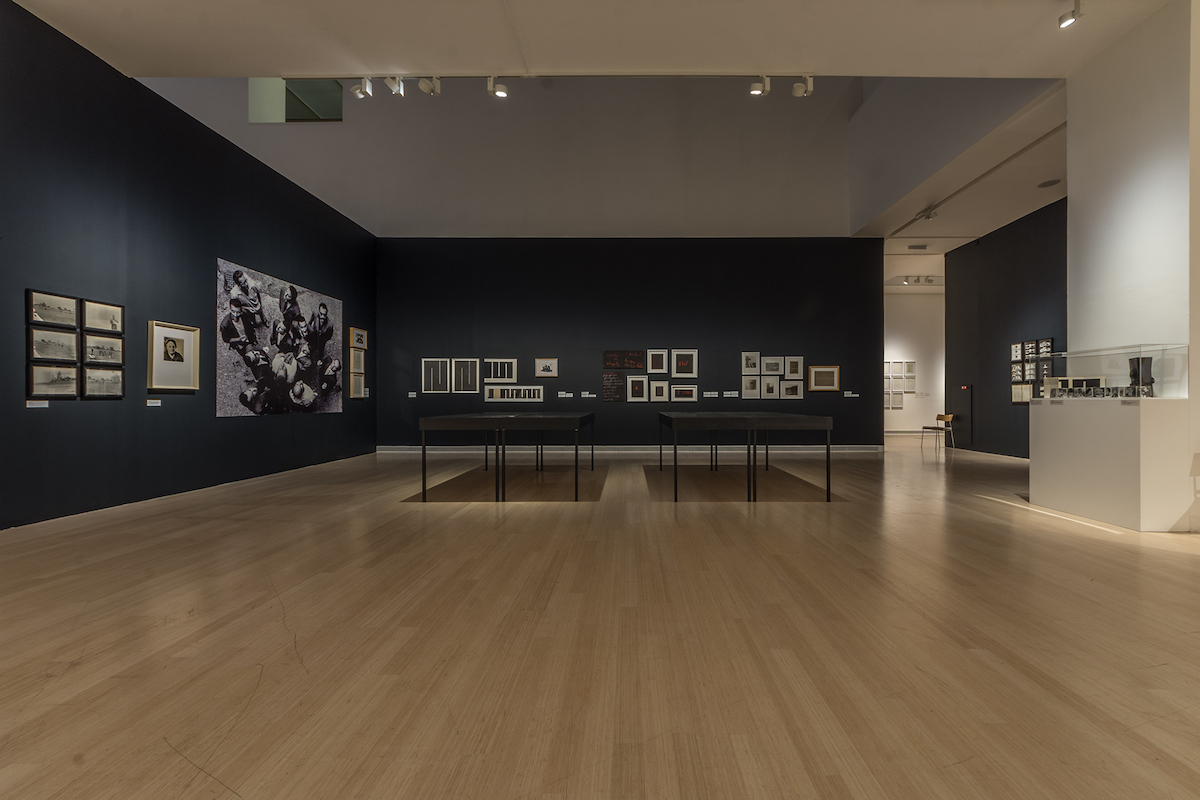 Installation view of the 'Non-Aligned Art. Marinko Sudac Collection' exhibition in Ludwig Museum Budapest, 2017. Works of the Gorgona group members featured. Courtesy of Marinko Sudac.