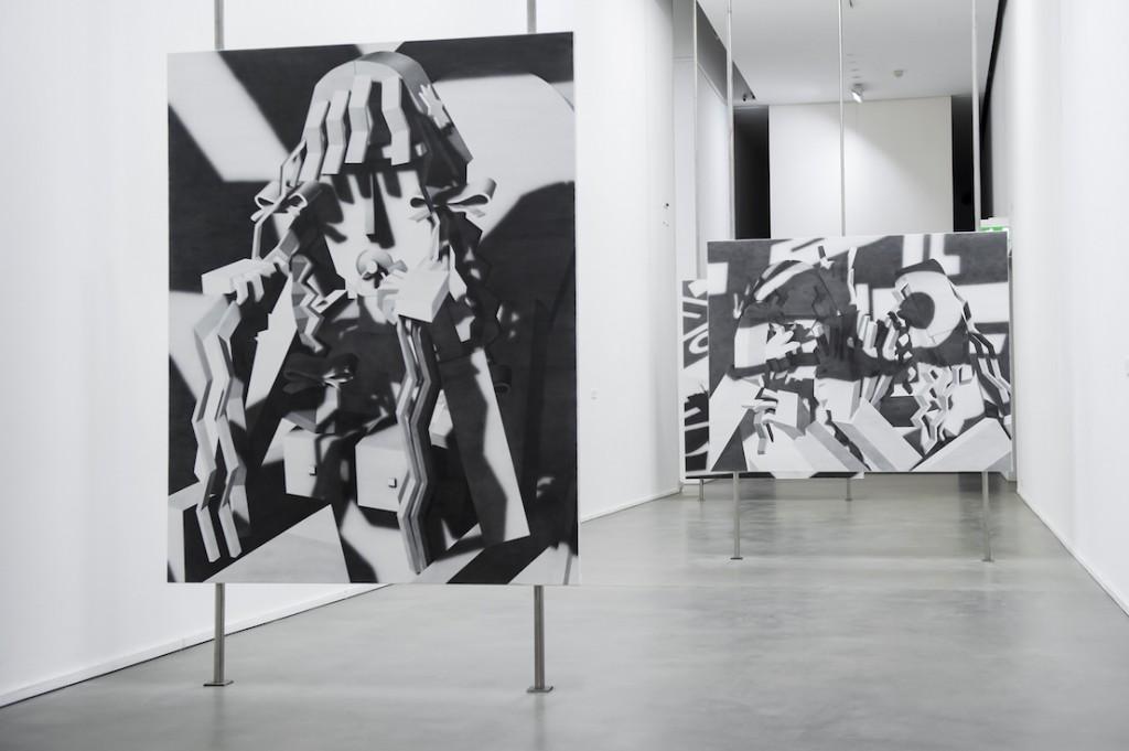 Inaugurazione Fondazione Sandretto Re Rebaudengo Mostre di Avery Singer, Fobofilia, United Artists of Italy