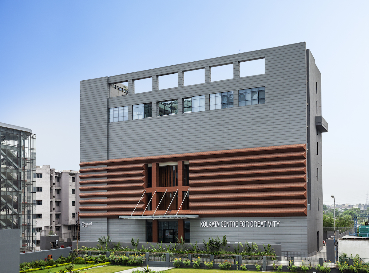 The exterior view of Kolkata Centre for Creativity (KCC). Courtesy of KCC.