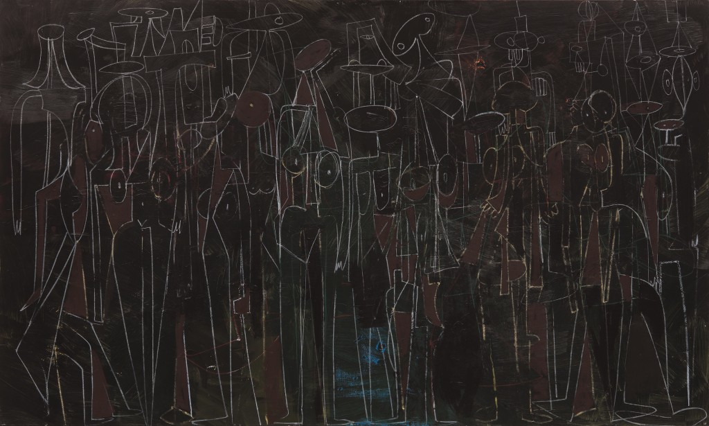 Lot 41- George Condo, Black Standing Figures