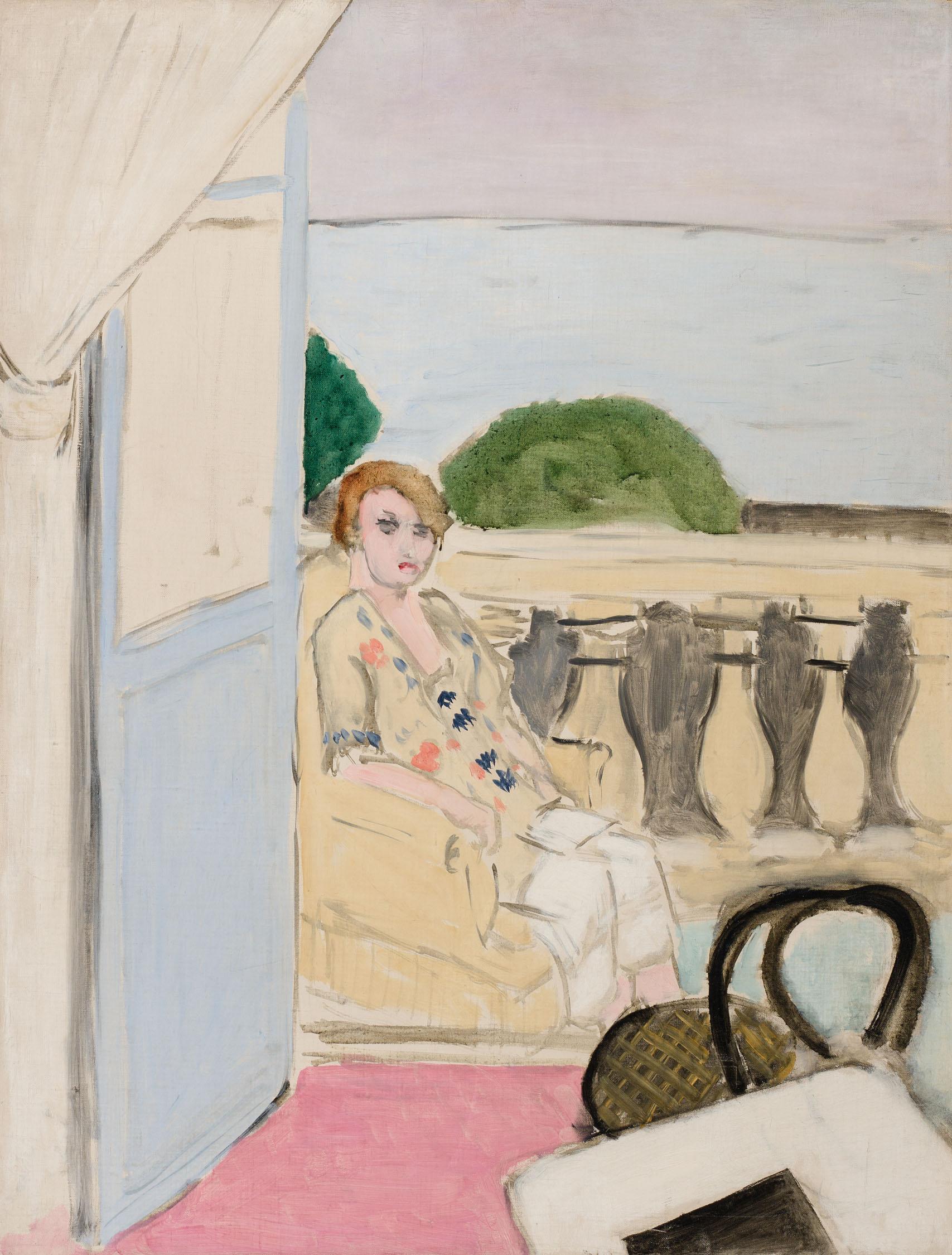 Matisse_Femme assise sur un balcon