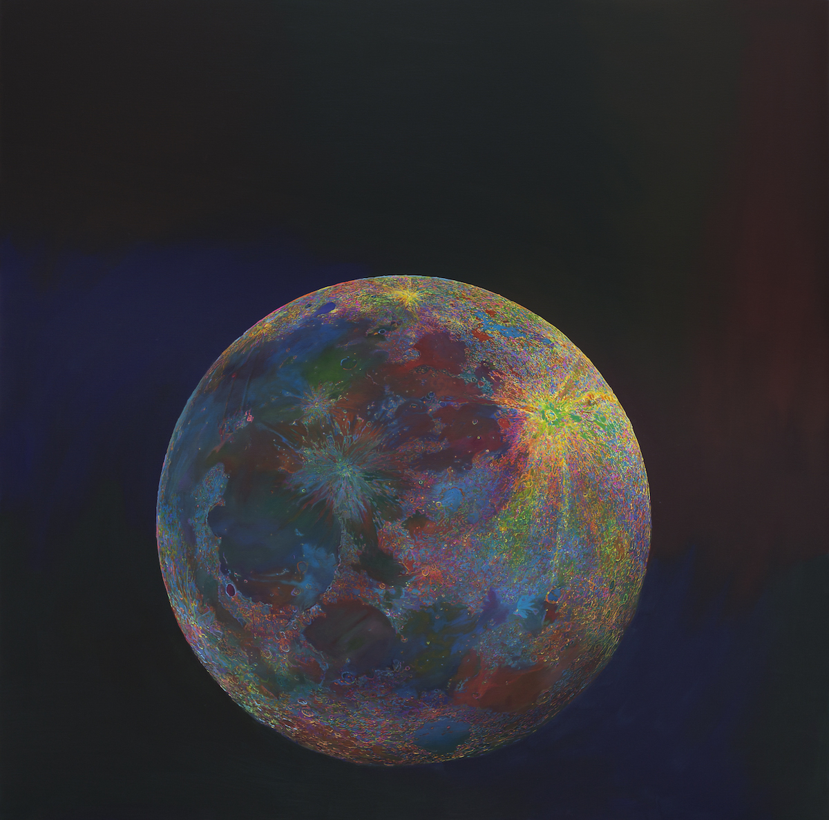 Wang Yuyang, Moon 201808, 2018. Courtesy of John Dodelande.